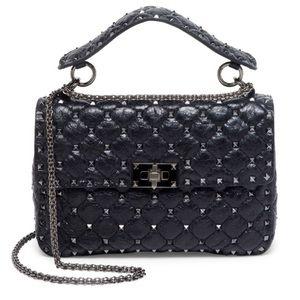 VALENTINO GARAVANI Medium Rockstud Stitched Bag